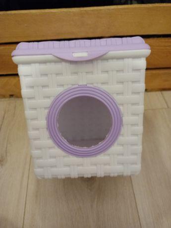 Pojemnik na proszek do prania 3L. Domek Pralka dla gryzoni
