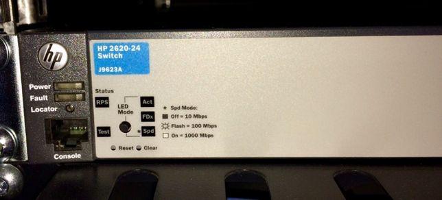 HP Switch 2620-24 (J9623A) Коммутатор