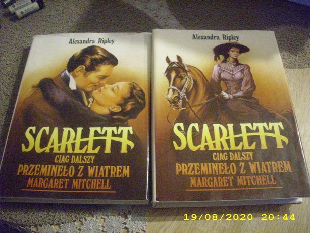 Scarlett ciąg dalszy PRZEMINĘŁO Z WIATREM 2 Tomy /k