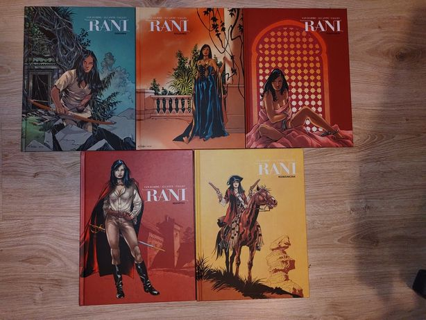 Rani Van Hamme Komplet 1-5