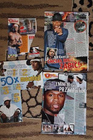 50 Cent artykuły + plakaty