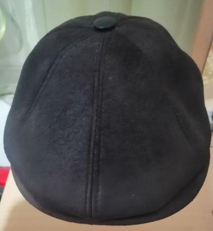 Зимняя-осенняя кепка мужская