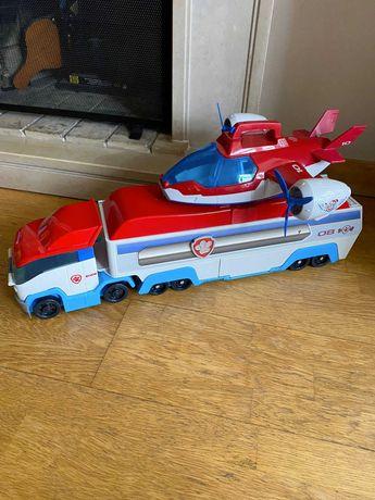 Camião e Avião Patrulheiro patrulha pata