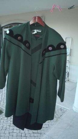 Vestido e casaco de Senhora