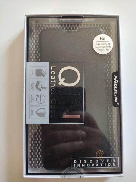 Xiaomi Mi9t etui nillkin Leather case qin prawdziwa skóra