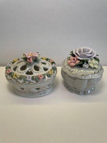 Вазочки - шкатулки / керамика