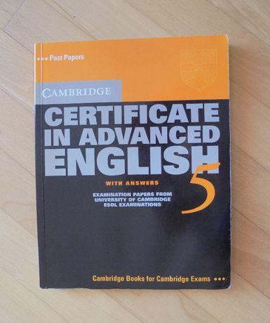 Cambridge Certificate in Advanced English 5 plus nagrania kasetowe