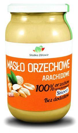 Masło Orzechowe 100% Bez dodatków 1000g ŚWIEŻE - Zielarski Toruń ZBR