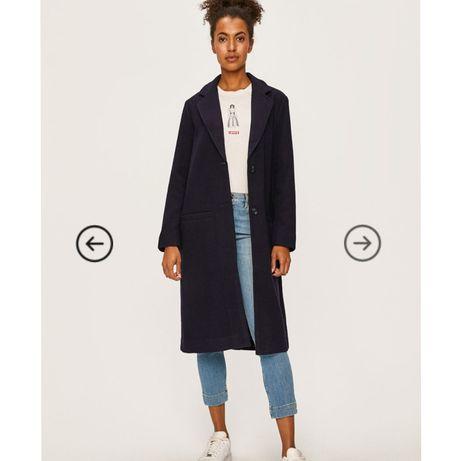 Шерстяное пальто в стиле бойфренд