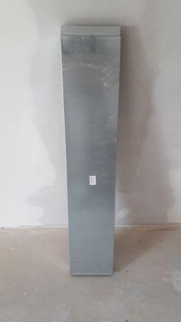 Kanał wentylacyjny prostokątny 200x50 1m + dwie złączki