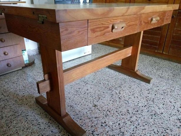 Mesa de cozinha madeira maciça