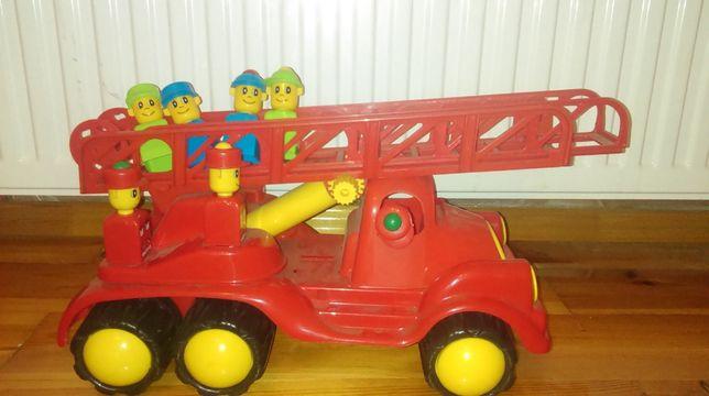 Wóz strażacki plastikowy