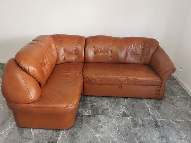 Sofa, narożnik, kanapa, skóra, Funkcja spania,