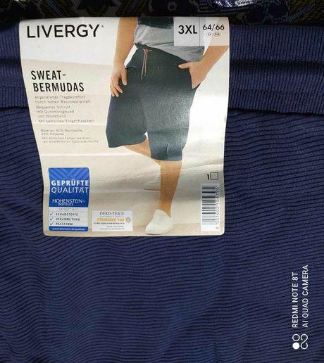 Livergy шорты бермуды батал большой размер трикотажные