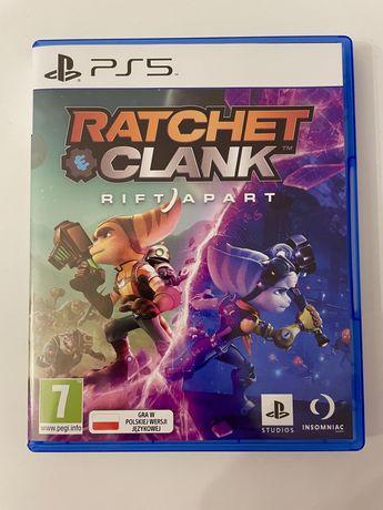 Ratchet and Clank Rift Apart PS5 polski dubbing! Jak nowa!