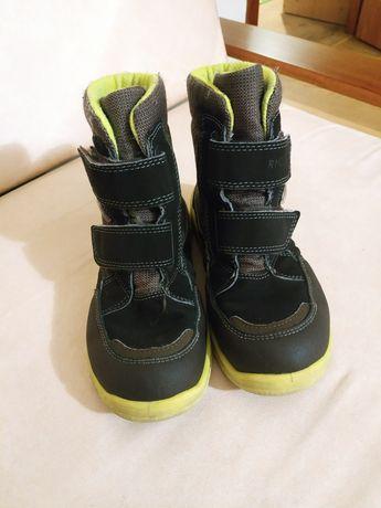 Зимние термо сапоги ботинки 32 ricosta geox дракон светящийся зелёные