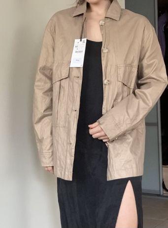 Nowa z metkami wiosenna kurtka Zara