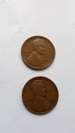 1 цент США 1940-1950х годов
