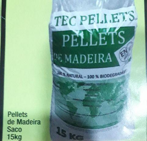 Pellets TEC saco 15 Kg - só 3,21€ -  transporte e entrega incluídos