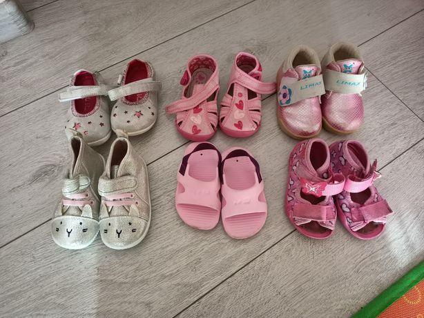 Zestaw butów, kapci rozmiar 19-20