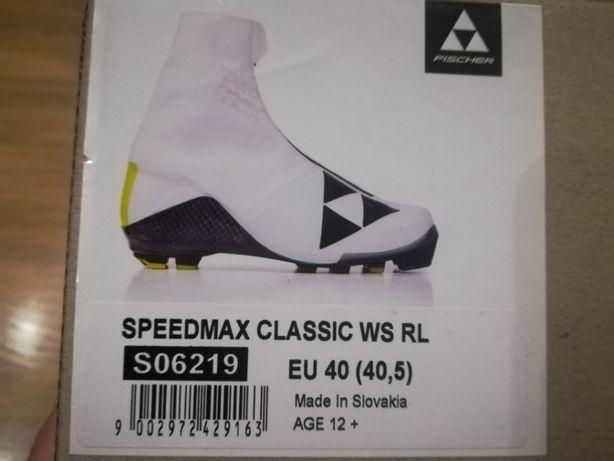 Wyścigowe buty na biegówki FISCHER Speedmax Classic WS damskie r.40