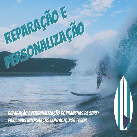 Reparação e Personalização de Pranchas de Surf