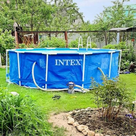 Бассейн каркасный Intex Metal Frame 457х122