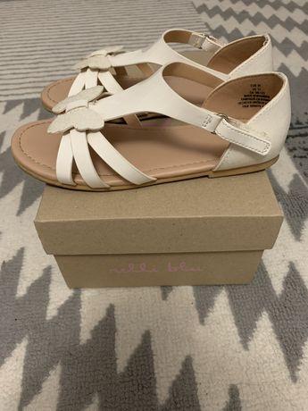 Sandały H&M 31/20cm motylki