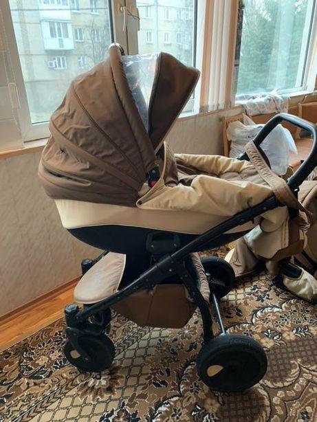 Коляска  Tutis Zippy для новорождённых ,  удобная и комфортная