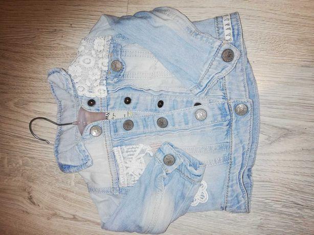 Katana, kurtka jeans, NEXT, 9-12
