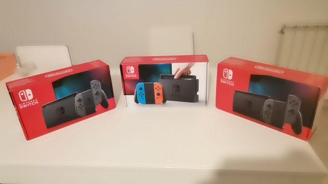 Nintendo switch. V1, v2, V2 garantia.
