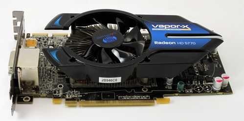 Sapphire Radeon hd 5770 Vapor-X C/Avaria