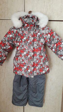 Зимний комбинезон куртка и штаны на 2-3 г