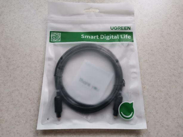 Ugreen AV122 качественный фирменный оптический S/PDIF кабель (2 метра)
