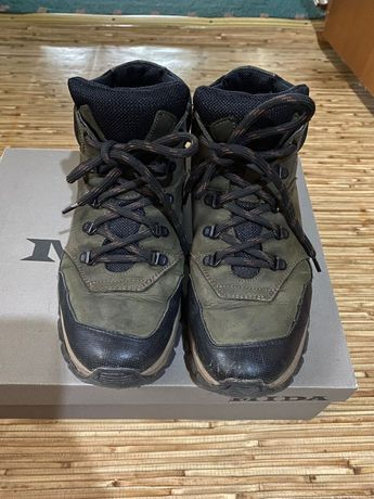 Ботинки зима ботинки нубук Mida