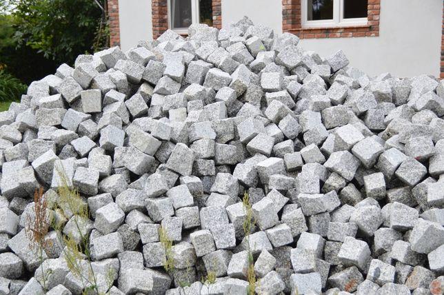 Granitowe kostki 6x4cm