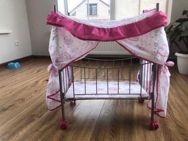 Іграшкове ліжечко для ляльок