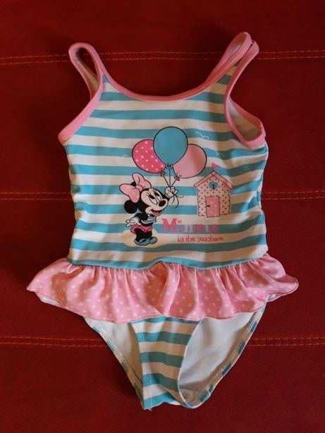 Купальник Disney Minnie Mouse 9-12 месяцев б/у