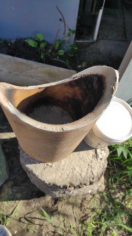 Trójnik fi 200 zestaw naprawczy komina czopucha ceramiczny