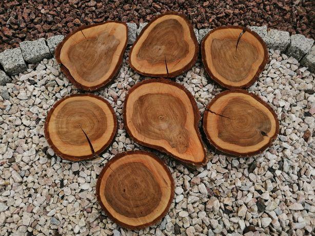 Okręgi drewniane drewno rekwizyty do sesji fotografia