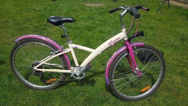 """B-Twin 24"""" rower dla dziewczynki"""