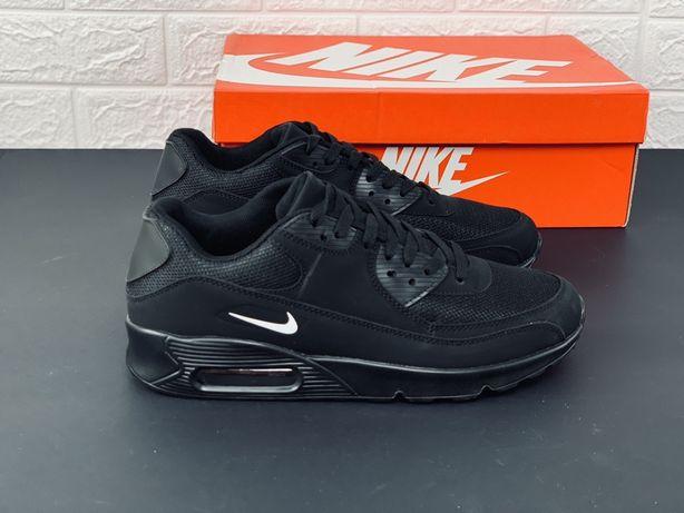 Nike air max 90 black-white кроссовки найк 270 97 95 аир макс кросівки
