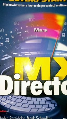 Książka Director MX szybki start