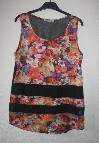 Linda túnica, marca L/XL, mas dá L