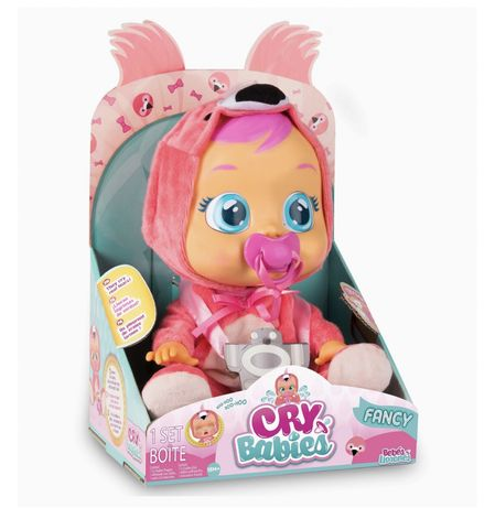 Cry babies оригинал интерактивная кукла плакса край беби