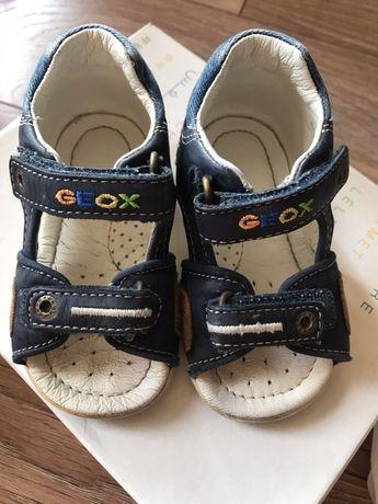 Sandałki Geox dla chłopca, rozm 23, cena z przesyłka 50zl