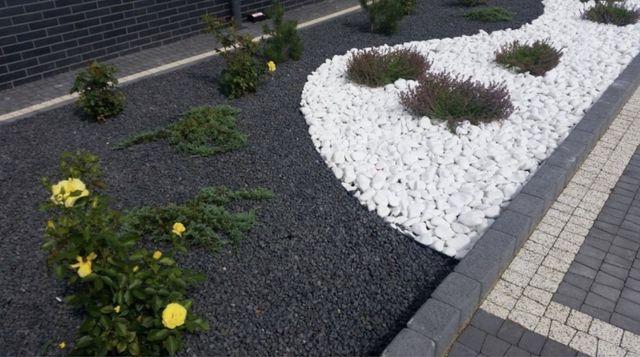 Grys bazaltowy 16-22 grys czarny, grafitowy, kamień, ogród, kruszywa