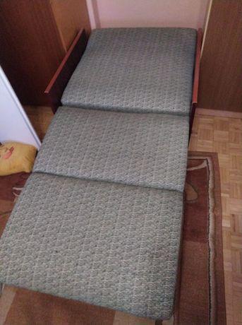 Łózko rozkładane jednoosobowe , - fotel rozkładany, ( kanapa)