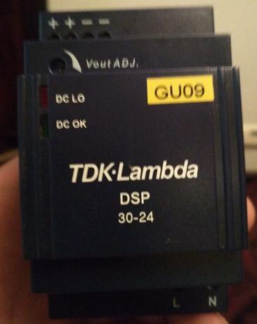 AC/DC преобразователь на DIN рейку DSP30-24 TDK-Lambda