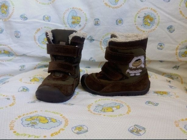 Демисезонные кожаные ботинки бренда Elefanten! Состояние отличное!